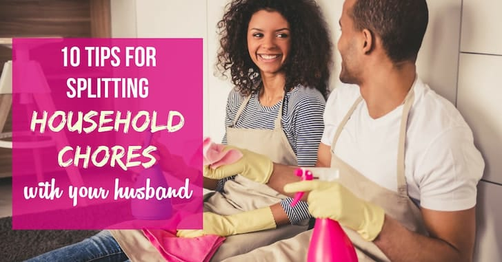 Top 10 Principles for Splitting Household Chores with Your Husband