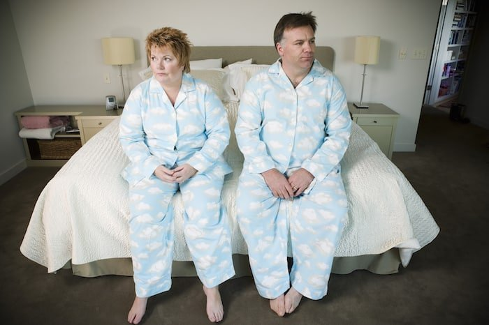 Boring Couple Flannel Pyjamas - Top 10 Reasons Sex Gets Boring