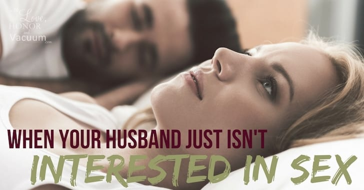 Reader Question: My Husband Isn't Interested in Sex Anymore