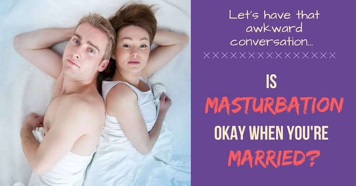 Reader Question: Is Masturbation Okay for Married Couples?