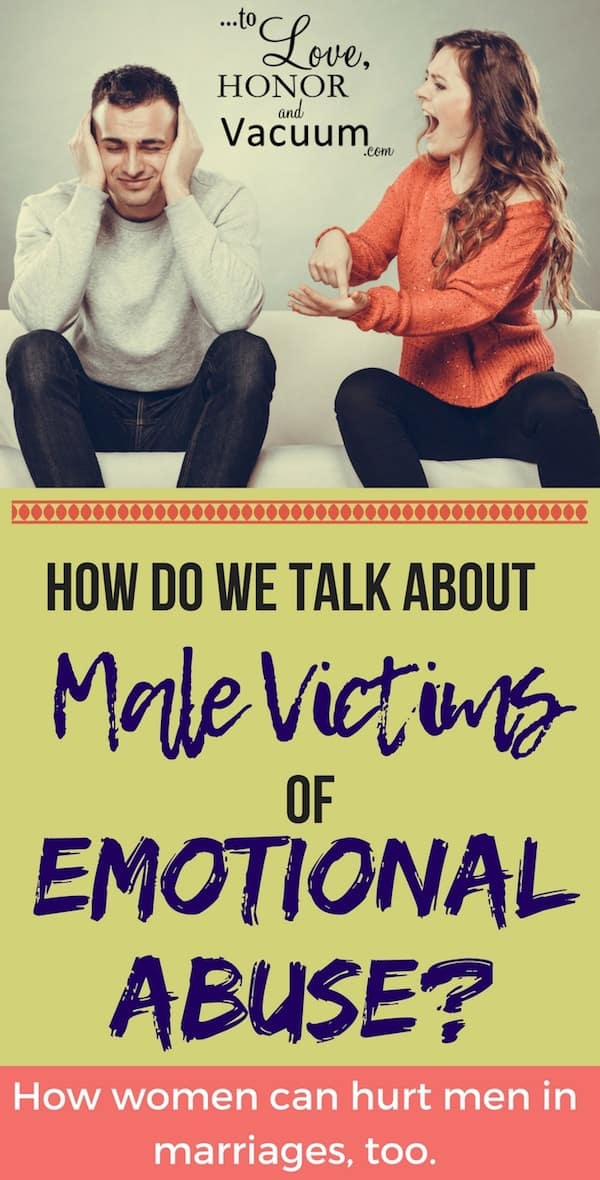 Men emotional abuse