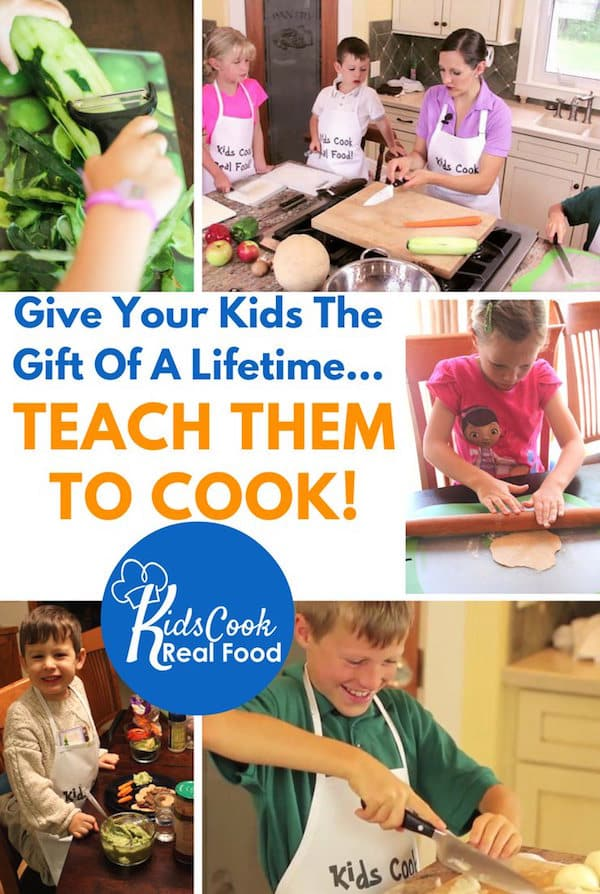 Teaching Kids to Cook: It's one of the most important life skills they need. And it can save you time, too!