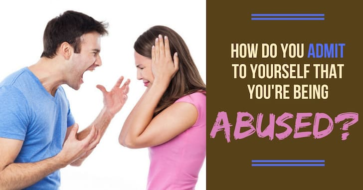 FB Admit Being Abused - Reader Question:  How Do I Admit to Myself that I'm Being Abused?
