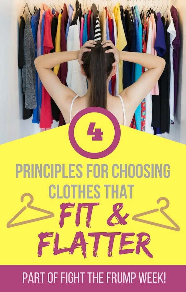 Clothes Fit and Flatter - Fight the Frump: Finding Clothes that Fit and Flatter