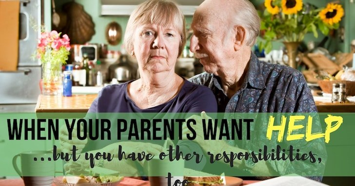 Setting Boundaries with Your Aging Parents–Because You Can't Do Everything!
