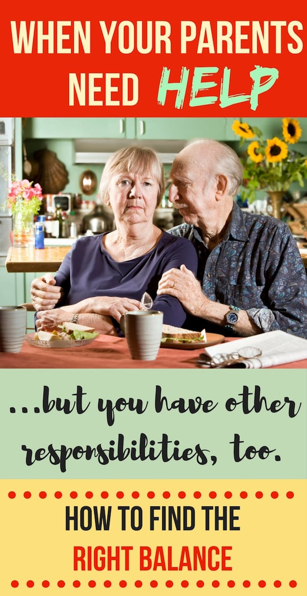Helping Aging Parents - Setting Boundaries with Your Aging Parents--Because You Can't Do Everything!