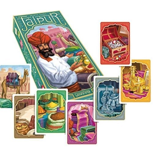 Jaipur Cards - 26 2 Player Board Games for Couples