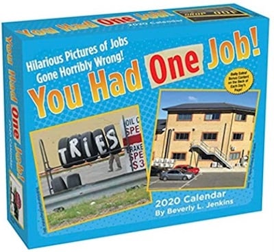 You Had One Job Calendar - Stocking Stuffers for Your Husband: 34 Out-of-the-Box Ideas!