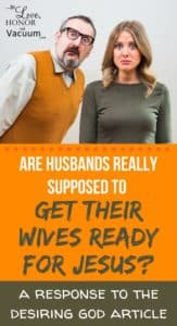Husbands Shouldnt Get Wives Ready for Jesus 163x300 - Husbands Shouldnt Get Wives Ready for Jesus