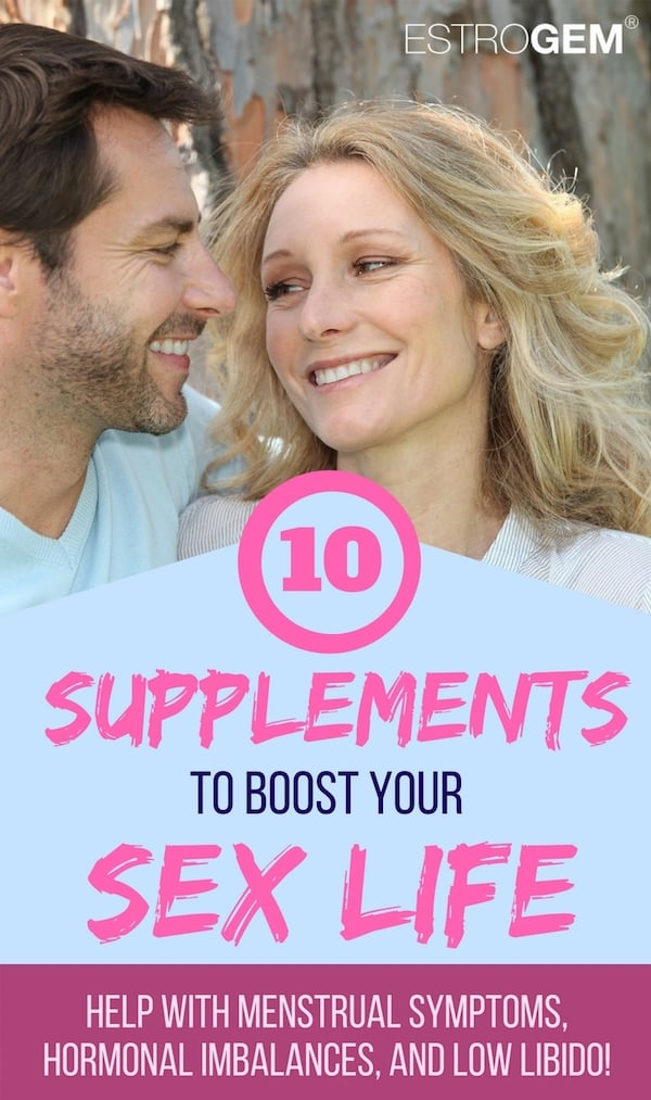 Check out these 10 natural health supplements to help boost your libido! Looking for a way to increase your sex drive without hormones? These women's health supplements can help!