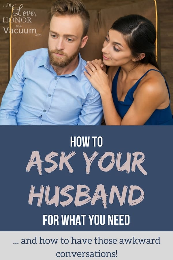 How to Ask Your Husband for Help | Communicating your Needs in Marriage