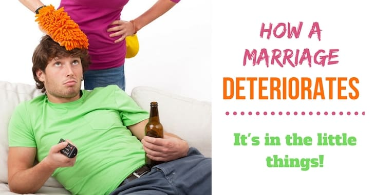 How a Marriage Deteriorates: It's in the Little Things