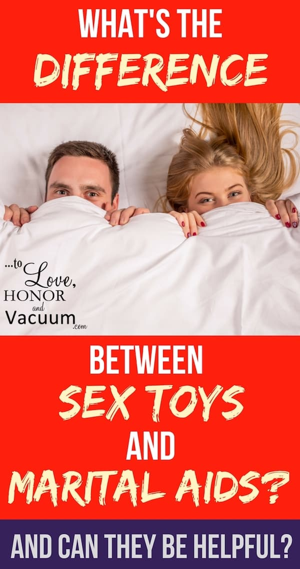 Sex Toys and Marital Aids - What's the Difference Between a Marital Aid and a Sex Toy?