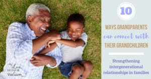 The generational gap can be tricky to get around when it comes to grandparents and their grandkids! Here are 10 ways you can begin to connect with your family!