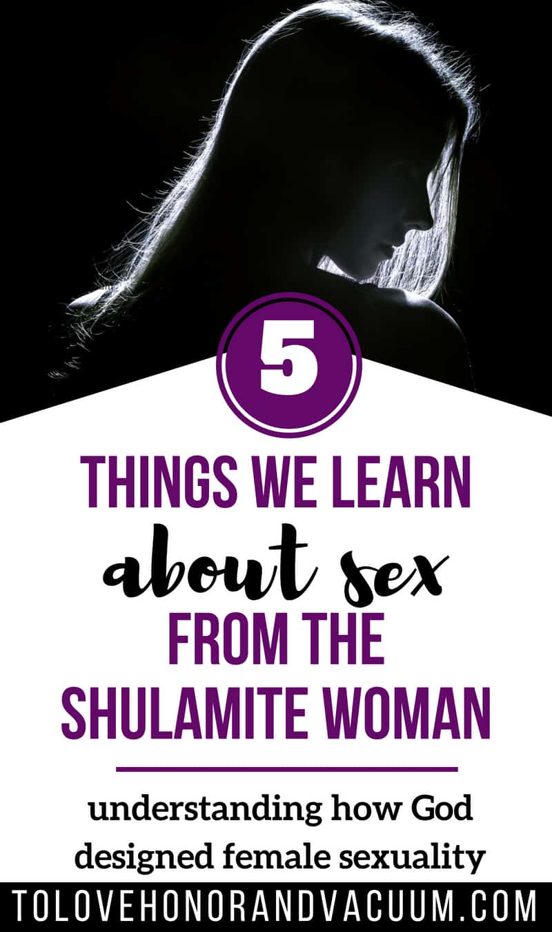 What can we learn from Song of Solomon about how God designed women to experience sex? Here are 5 things that the Shulamite Woman teaches us about female sexuality the way God designed it!