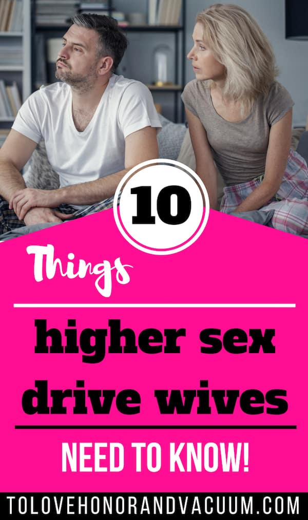 High Libido Wives: 10 things to know when she's got the higher sex drive