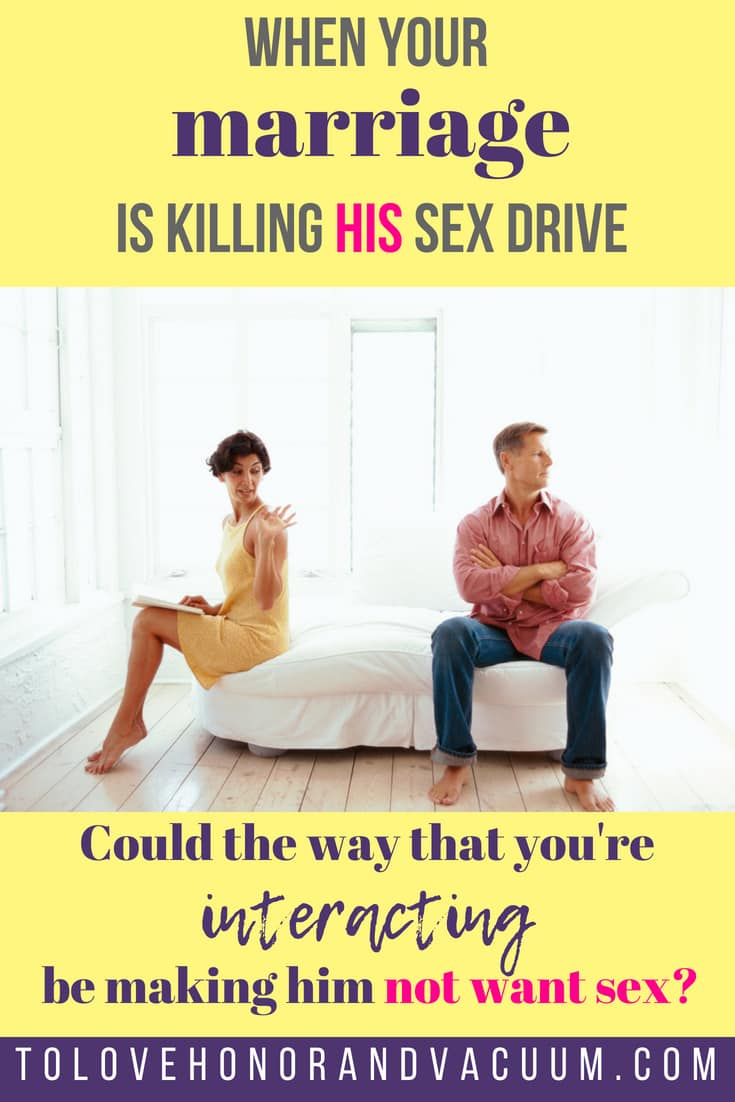 When a husband or wife does not want sex
