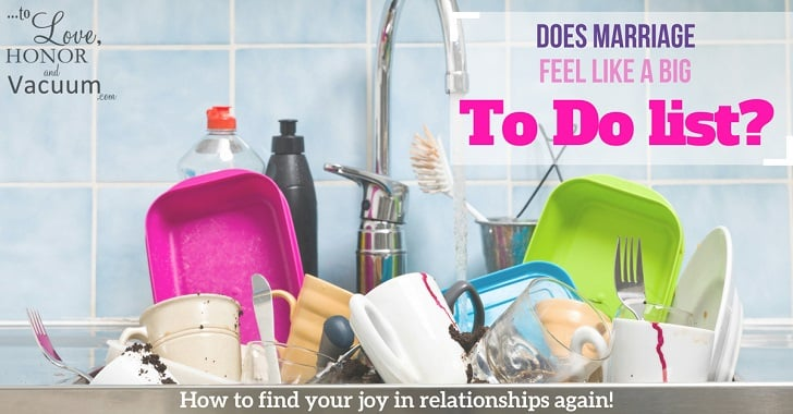 Wifey Wednesday: 3 Ways to Stop Marriage (and Motherhood!) from Feeling like a Big To-Do List