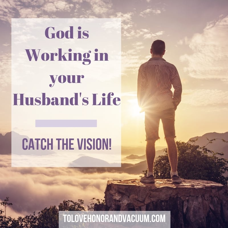 Persevere in loving your spouse by remembering that your husband will continuously be changing by God's grace.