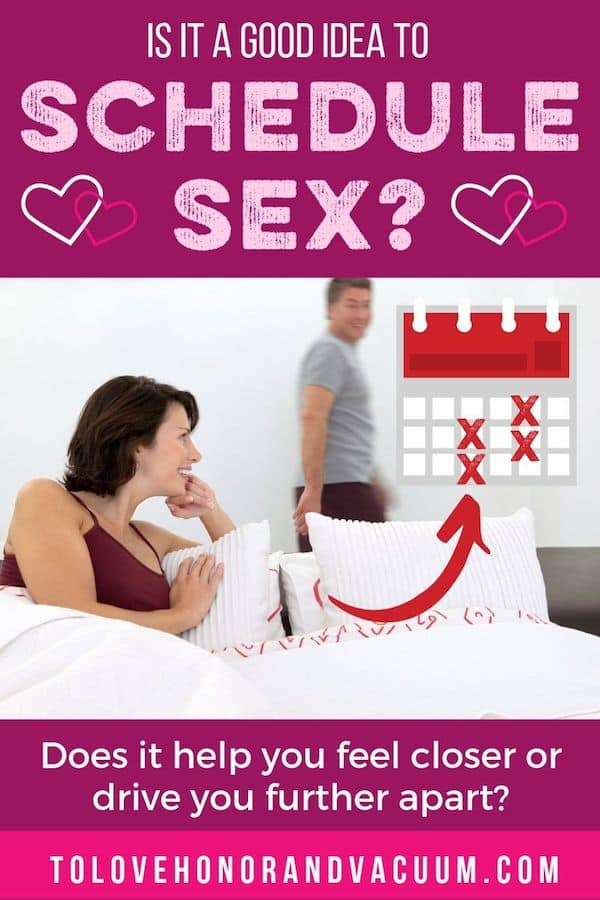 Good Idea to schedule Sex - Scheduling Sex: Good Idea or Romance Killer?