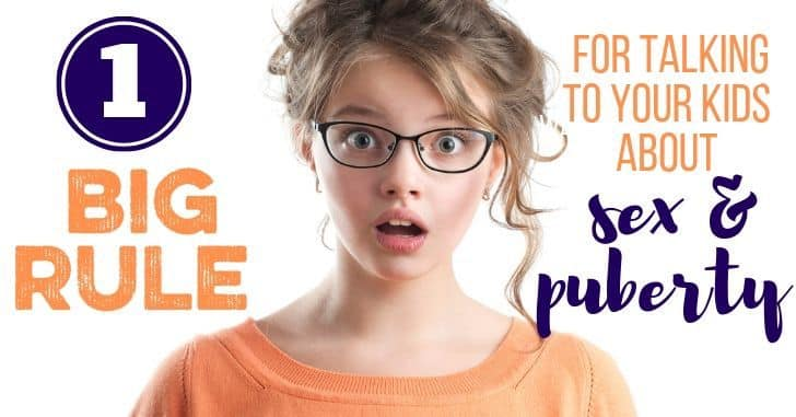 FB Rule for Talking Kids Sex Puberty - 10 Ways to Be an Abuse Savvy Mom
