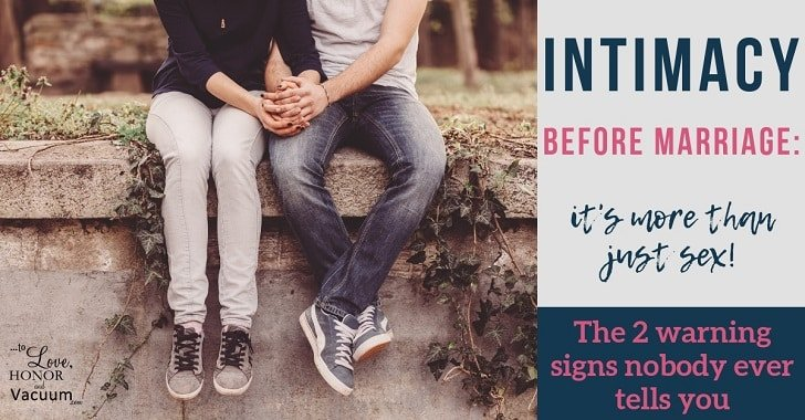 FB intimacy before marriage 2 warning signs - Reader Question: Should You Get Married Just Because You Have a Child Together?