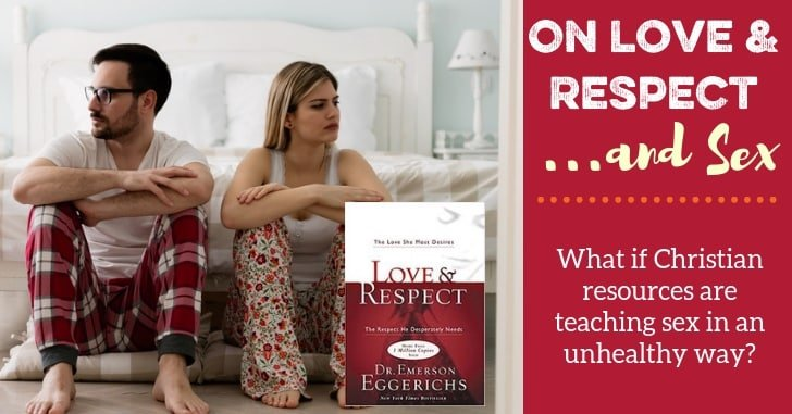 FB Love and Respect and Sex Eggerichs - Is It Okay if Christian Marriage Books are Just a Little Bit Harmful?