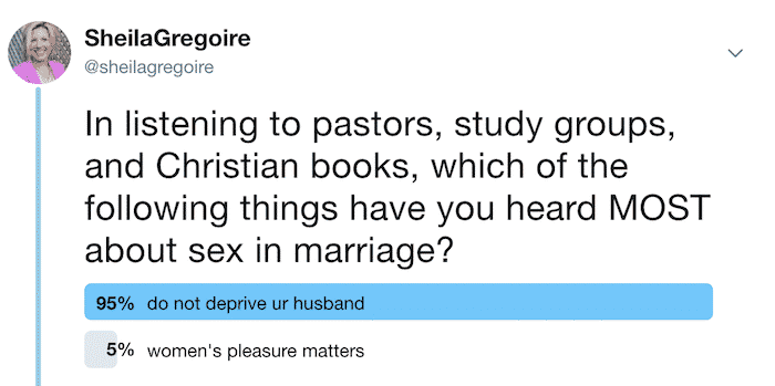"Do Not Deprive Poll - MUTUAL SEX SERIES: Can the ""Do Not Deprive"" Verses Apply to Women's Needs, Too?"