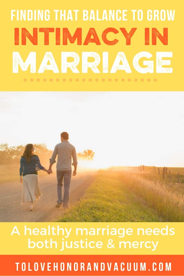 The Micah 6:8 Marriage: Finding the balance between justice and mercy