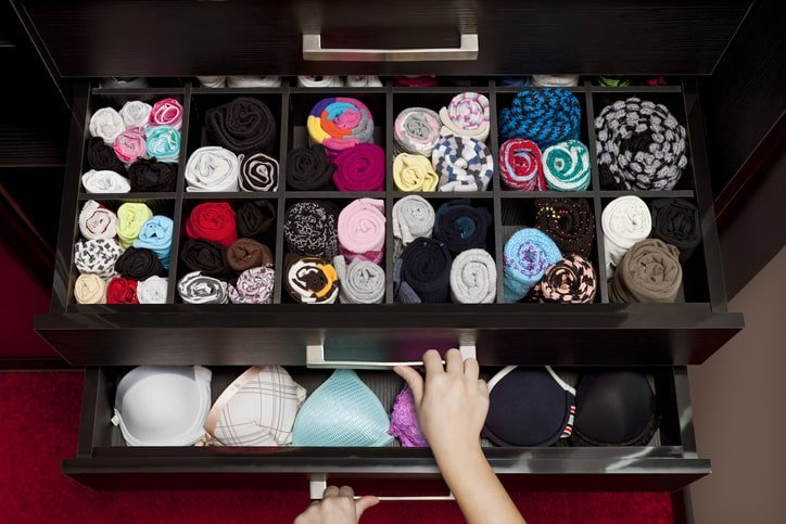 Marie Kondo Underwear Drawer - Choosing Panties for Your Body Type--that Make You Feel Sexy and Comfortable