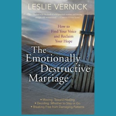 EmotionallyDestructiveMarriage 400x400 - The 3 Kinds of Marriage Problems--and Why We Shouldn't Confuse Them