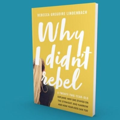Why I Didnt Rebel Store Graphic 400x400 - Why I Didn't Rebel: Sheila's Daughter's Book!