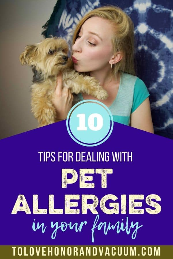 Dealing with Pet Allergies in Your Extended Family