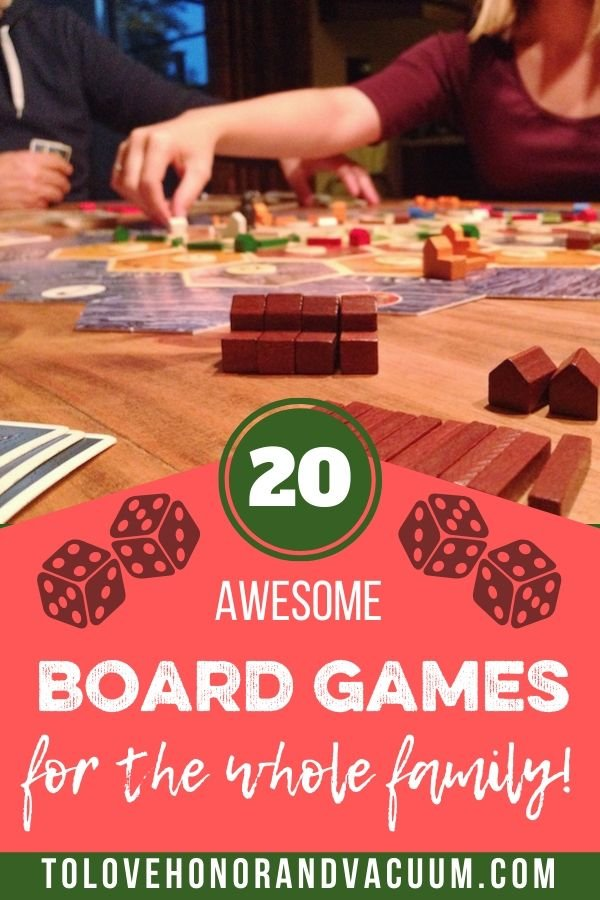 14 FAmily Board Games - 20 Awesome Family Board Games To Play Together