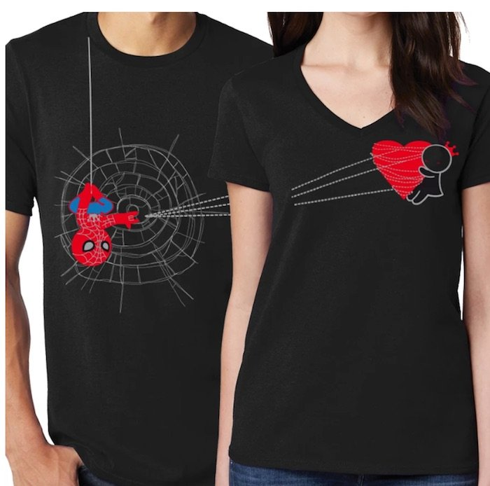 Coordinating Boldloft Couples Tshirts - 16 Couple Gifts to Buy For Yourselves this Christmas