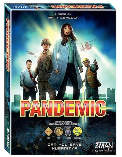 Pandemic Board Game - 20 Awesome Family Board Games To Play Together
