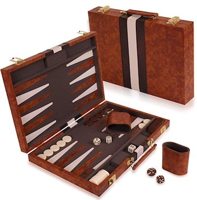 Backgammon Set - 26 2 Player Board Games for Couples