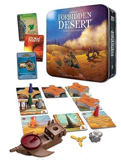 Forbidden Desert Board Game for Two - 26 2 Player Board Games for Couples