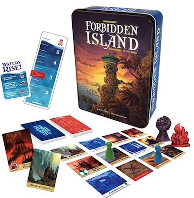 Forbidden Island Couple Cooperative Board Game - 26 2 Player Board Games for Couples