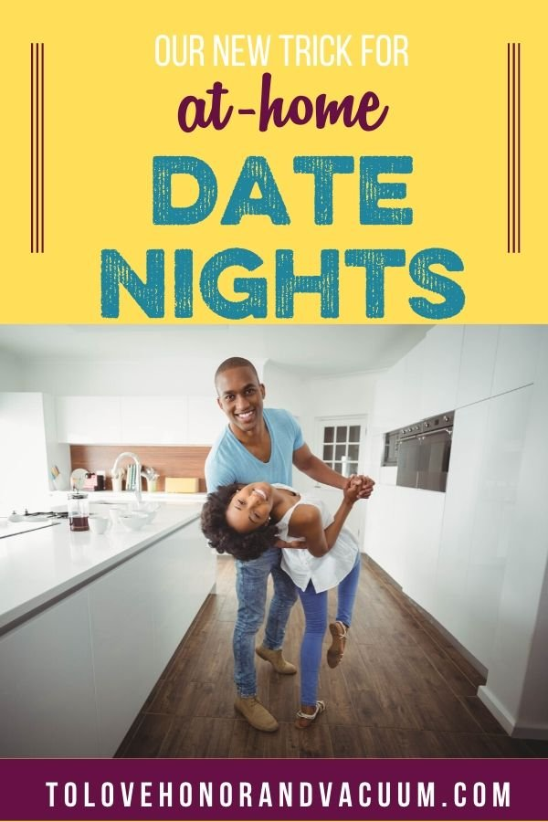 New Trick for At Home Date Nights - Our New Trick for At-Home Married Date Nights