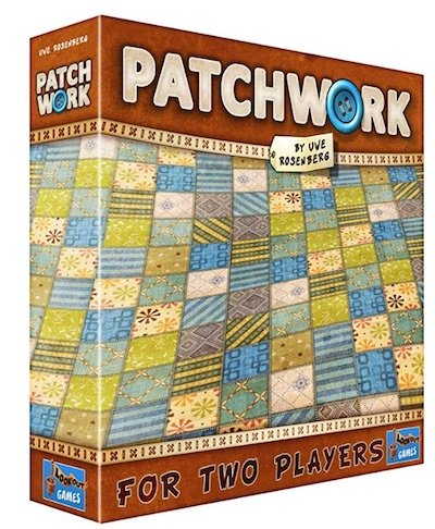 Patchwork Two Play Board Game - 26 2 Player Board Games for Couples