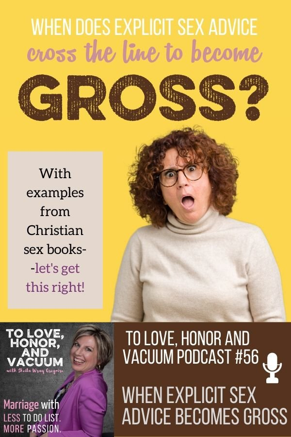 Podcast Explicit Sex Advice Gross - PODCAST: When Does Explicit Sex Advice Become Gross?