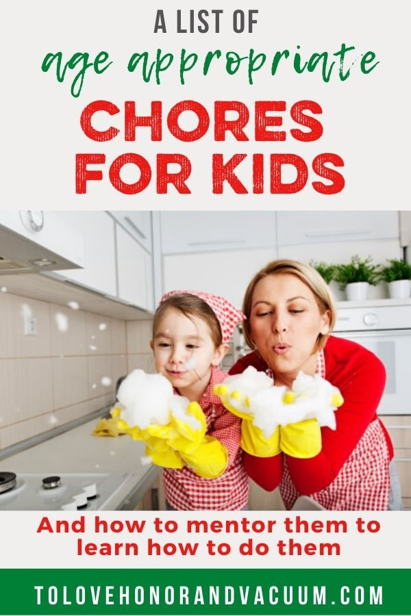 Age Appropriate Chores for Kids - Age Appropriate Chores and Responsibilities for Kids