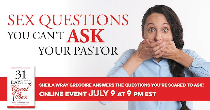 Sex Questions You Can't Ask Your Pastor is Coming!