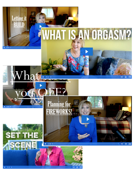 Orgasm Course Vertical Collage - The Orgasm Course