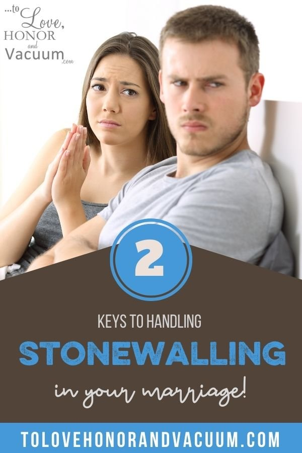 2 Keys to Handle Stonewalling - EMOTIONAL MATURITY SERIES: What To Do When Your Spouse is Stonewalling