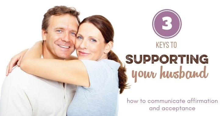 How to Support Your Husband Well