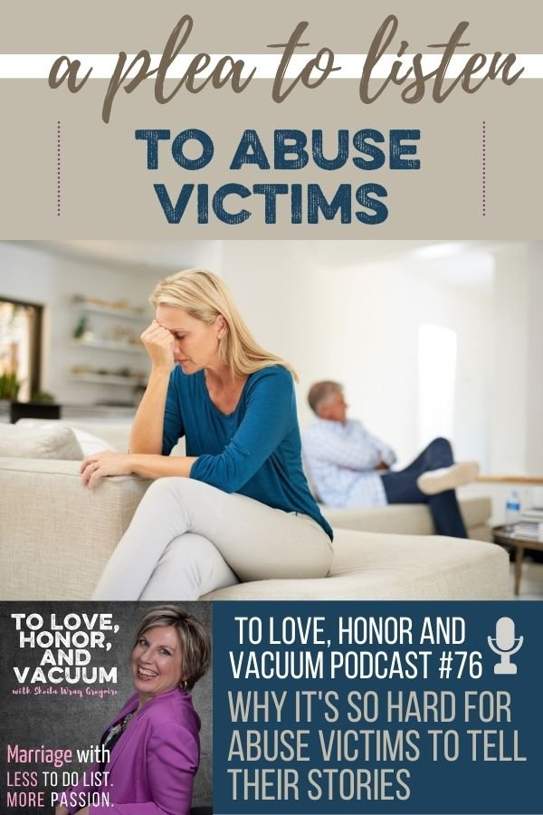Podcast Hard to Tell Abuse Stories - The Podcast: No Wonder Abuse Victims Don't Speak Up!