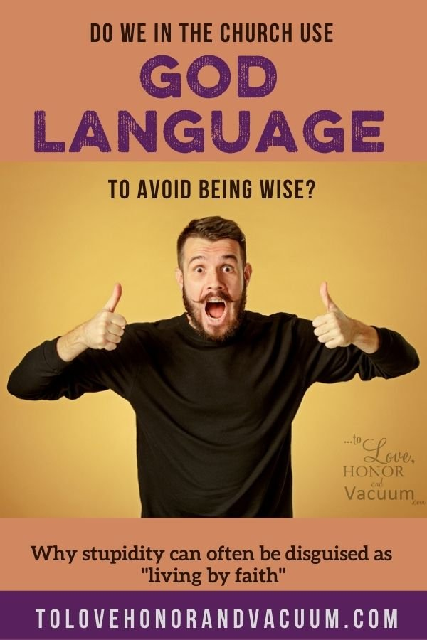 Using God Language to Avoid Growing Up - Do We Use God Language to Enable Emotional Immaturity?