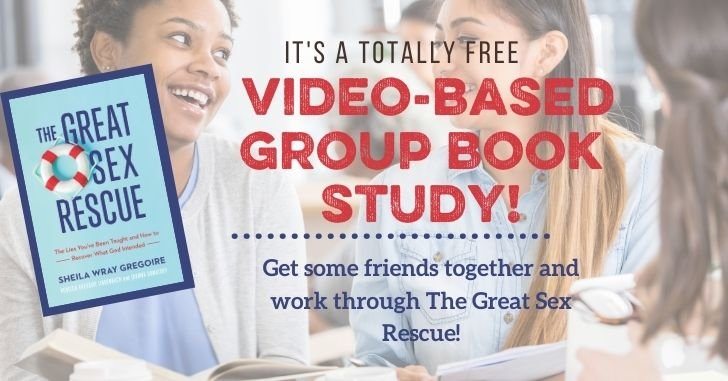 The Most Fun FREE Book Study Ever–The Great Sex Rescue! (with video)